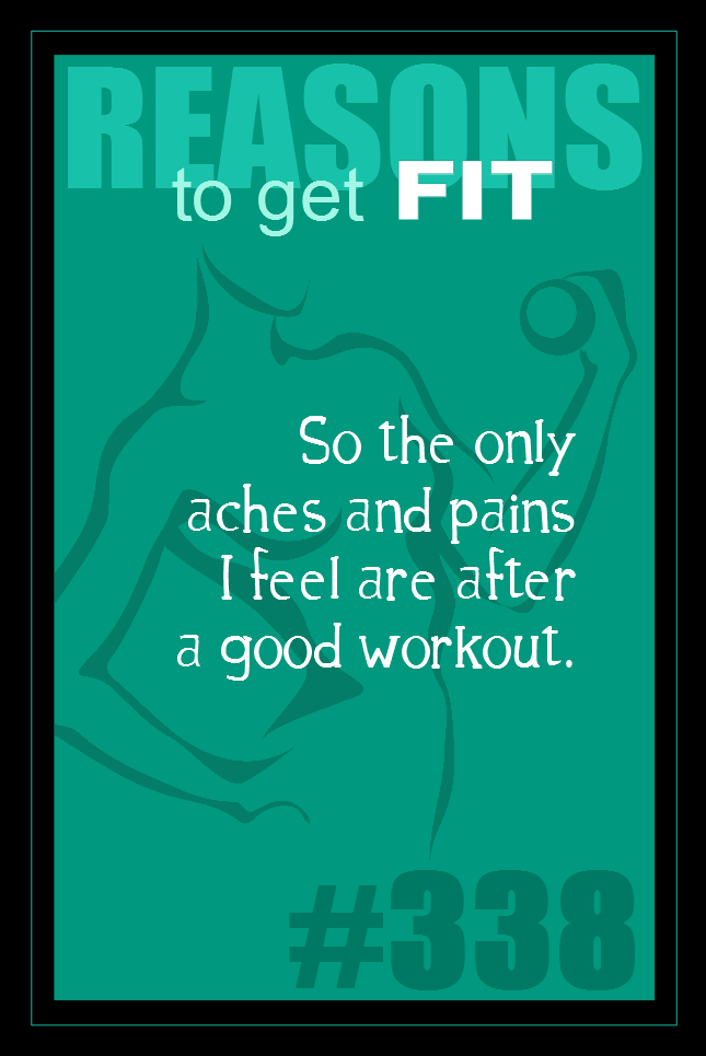 365 Reasons to Get Fit #338