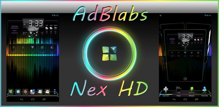 Next Launcher 3D Nex HD v1.5 apk download