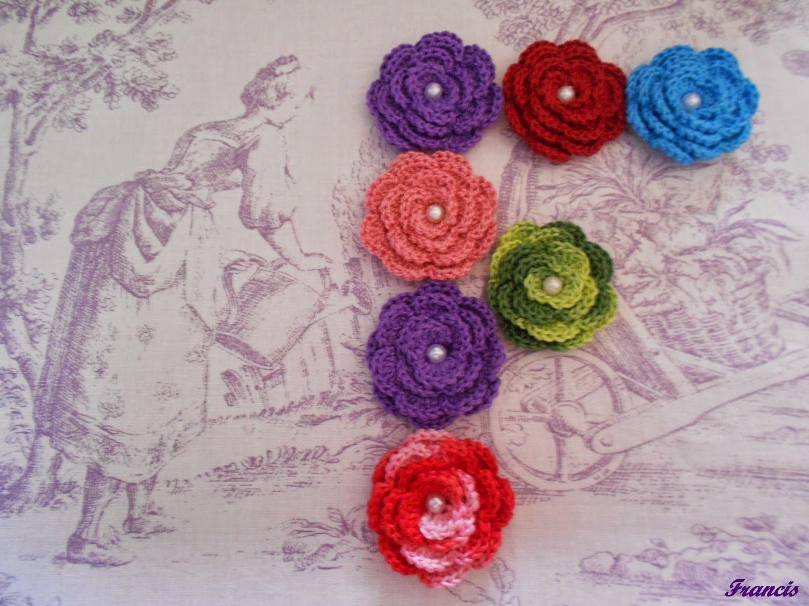 Labores en mano: ***Flor crochet paso a paso***
