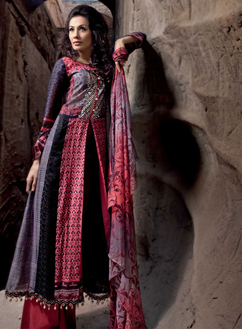 Wonderful Ladies Dress Of Pakistan Include And Are Not Limited To Salwar Qameez, Kurti, Gowns, For Casual, Home, Marriage And Party Wear This Garment Collection Sheds