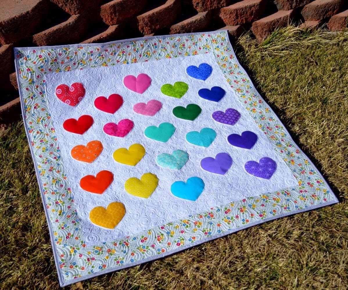 Happy Quilting | Shabby Fabrics Blogger Challenge
