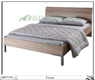 Tempat Tidur Model Minimalis Natural Forest