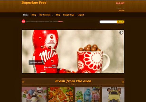Dapurkue Lite WooCommerce Themes