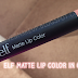 New ELF Matte Lip Color in Coral ♥♥♥
