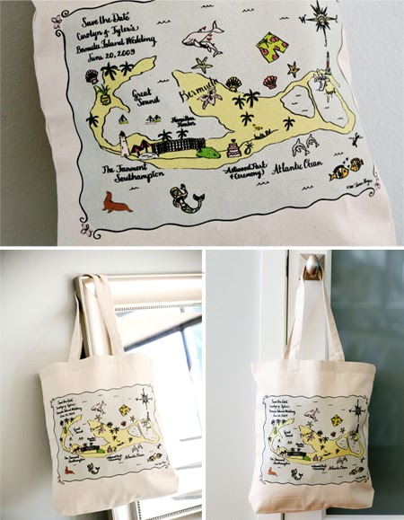 Pretty Domestic: Out of Town Wedding Gift Bags