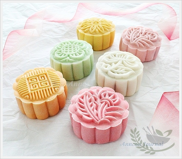 Easy Mooncake Images : Snowskin Mooncakes ???? (2012) Anncoo Journal - Come for ...