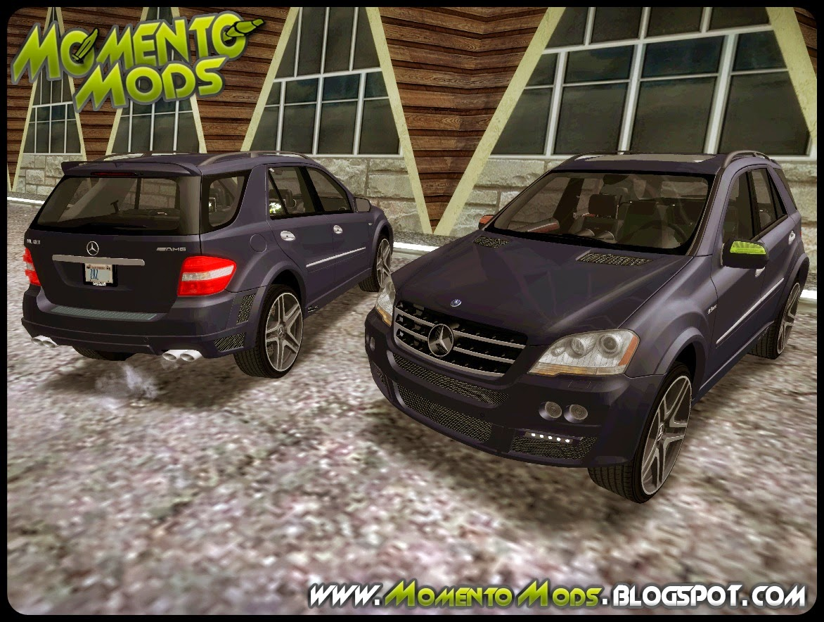 GTA SA - Mercedes Benz ML63
