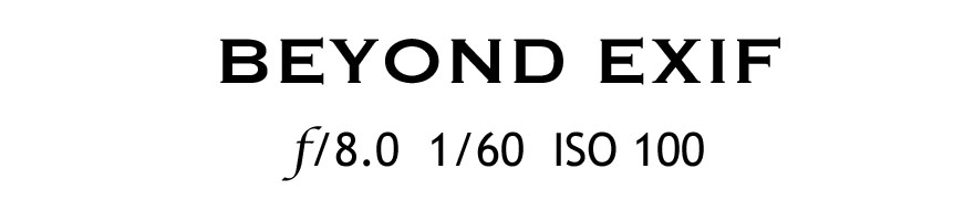 Beyond Exif