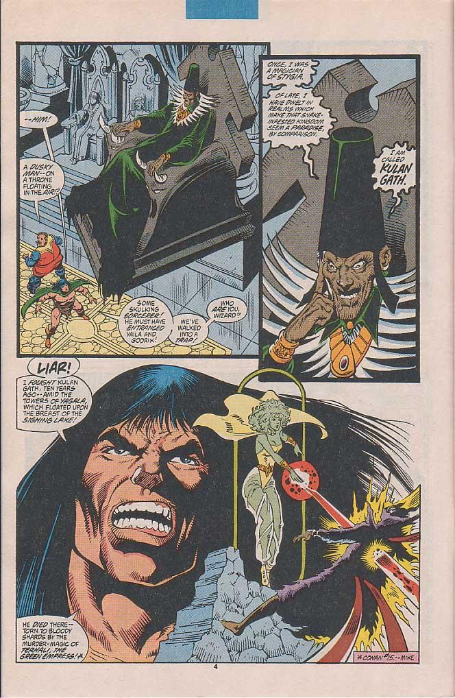 Conan the Barbarian (1970) Issue #253 #265 - English 5
