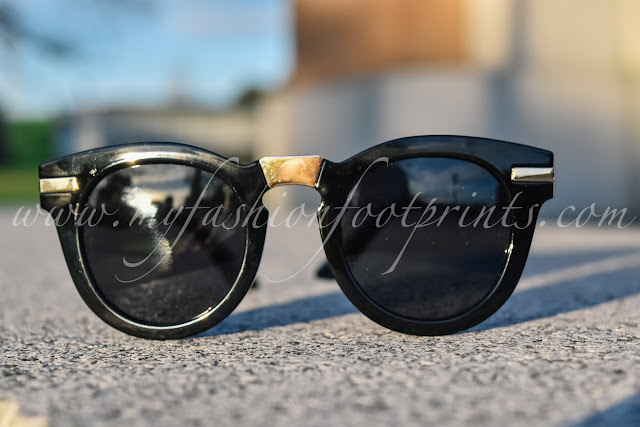 My New Found Love - Champigny Round Sunglasses