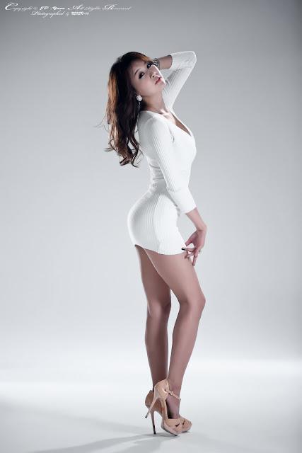 5 Seo Yoon Ah in White -Very cute asian girl - girlcute4u.blogspot.com