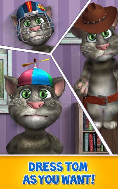 Talking Tom Cat ad free