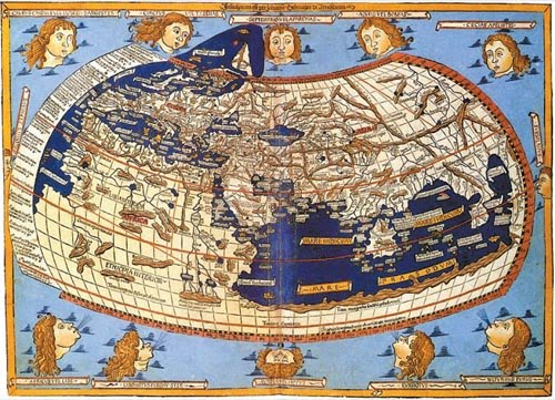 ancient maps of antarctica. the ancient map only