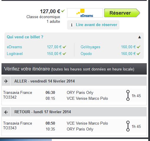 Low cost Venise Saint Valentin