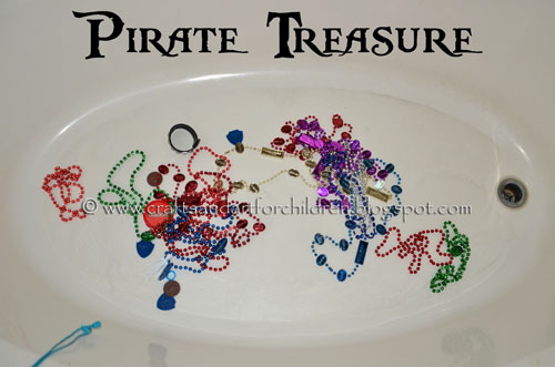 Pirate Treasure Ideas for kids