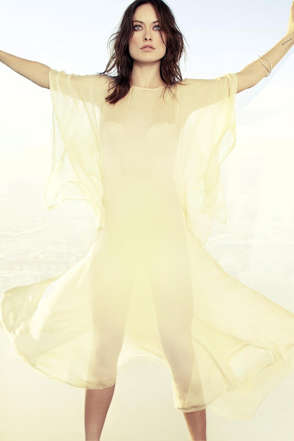 Olivia Wilde -  Marie Claire April 2013