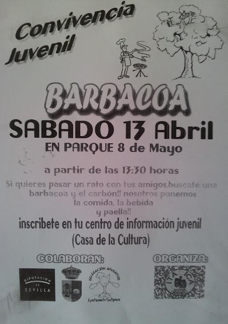 Barbacoa juvenil en Santiponce