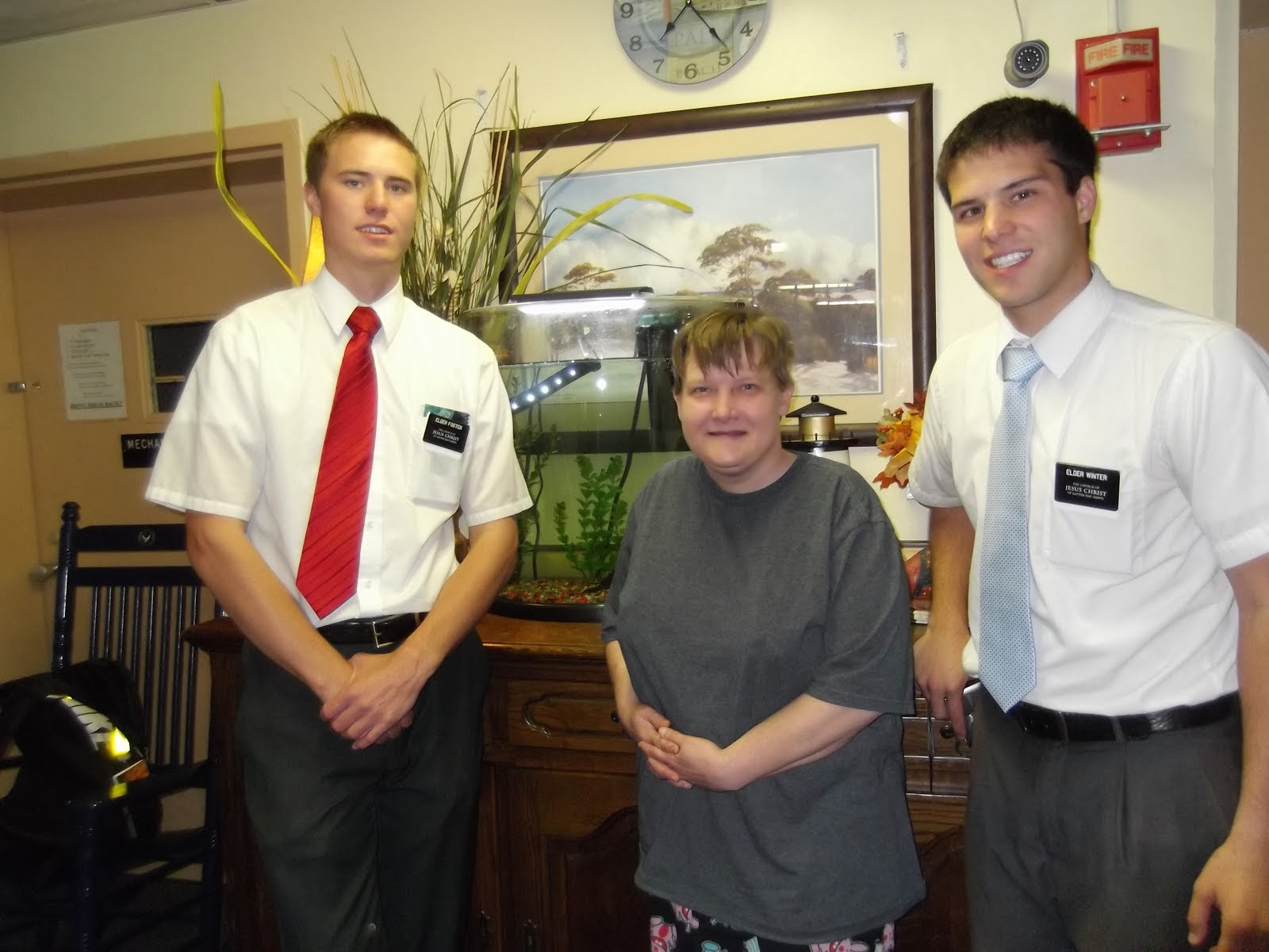 Angie Davis with Elder Foster & Elder Winter