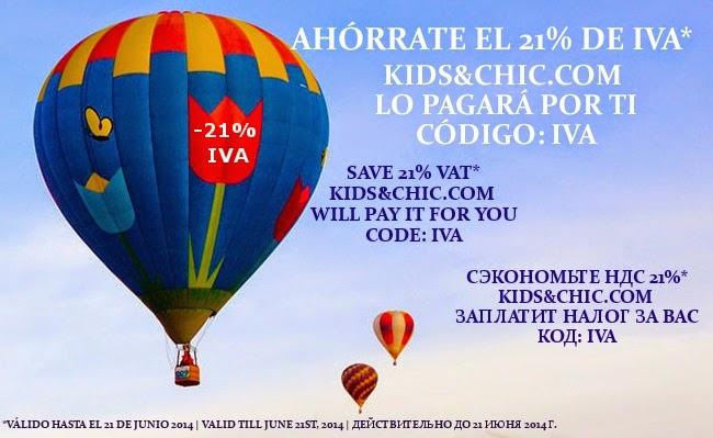 SAVE 21% VAT