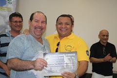 José Antonio e Sergio Marques em Seminário de Formação em Maringá no Paraná
