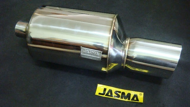 JASMA rear exhaust