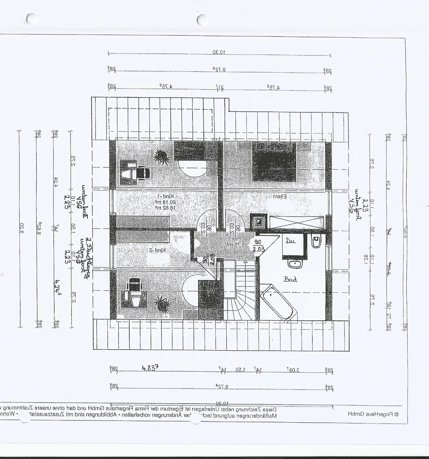 Fingerhaus vio grundriss  Unser Bautagebuch: Januar 2013