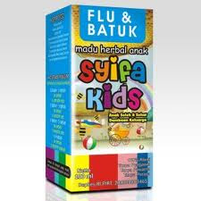 Madu Syifa Kids-Atasi Flu Dan Batuk