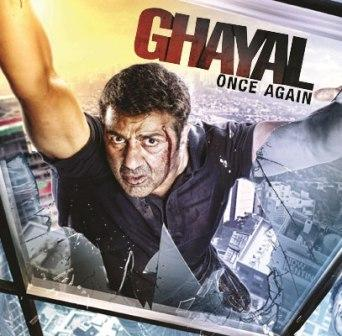 Poster Of Bollywood Movie Ghayal Once Again (2016) 100MB Compressed Small Size Mobile Movie Free Download worldfree4u.com