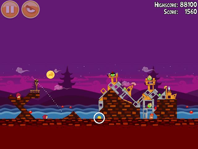 Angry Birds Seasons: Mooncake Festival 1-9