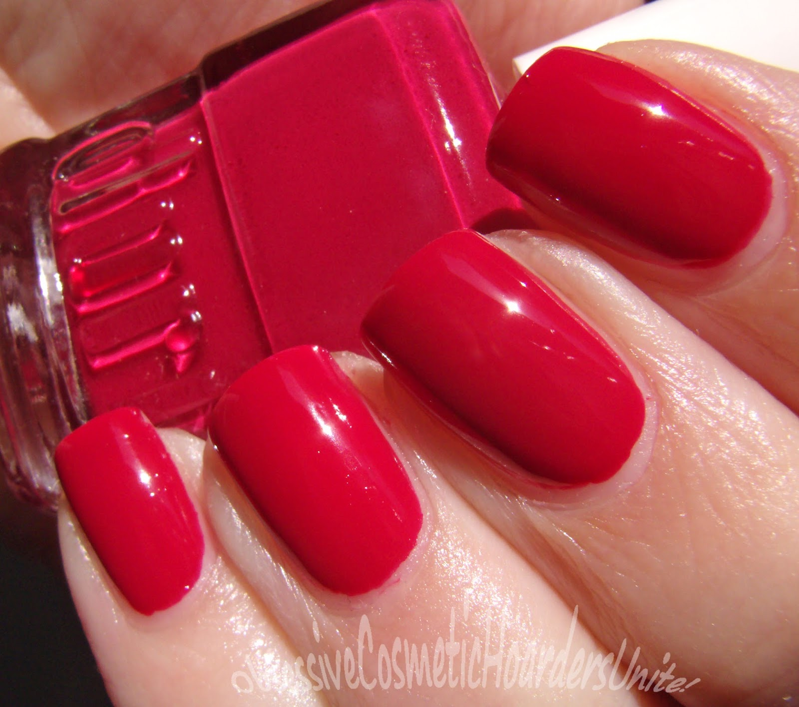 Hot Pink Jelly Nail Polish - To Bend Light