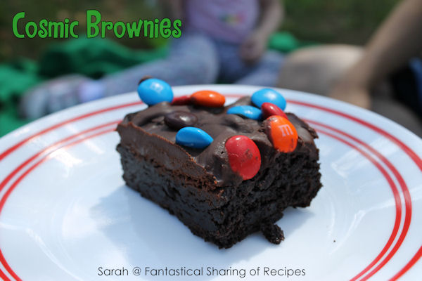 Cosmic Brownies - a childhood favorite made at home #copycat #chocolate