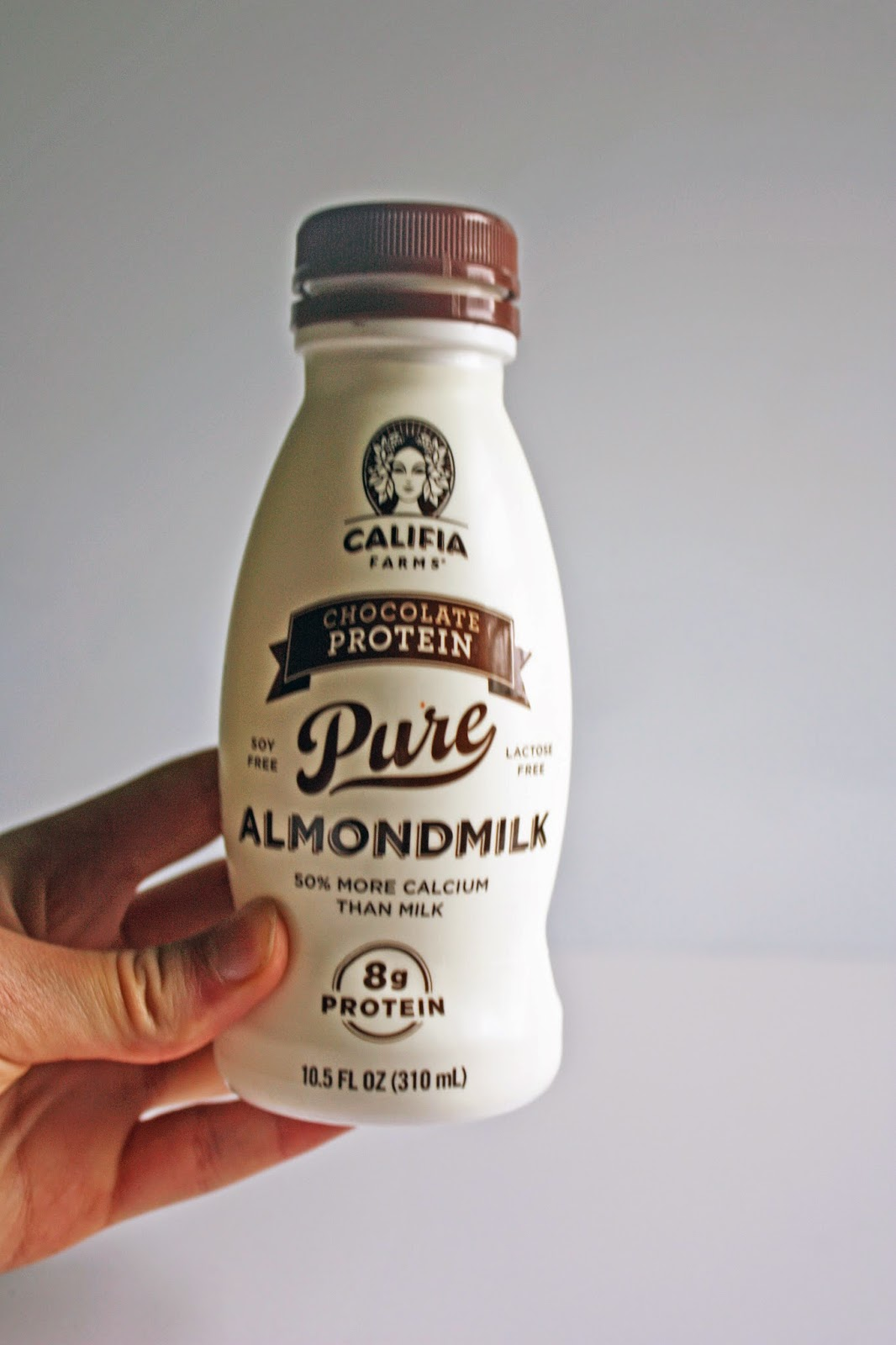 Califia farms chocolate protein almond milk is not vegan but why