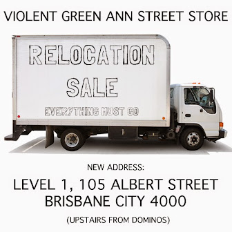 VIOLENT GREEN ANN STREET STORE