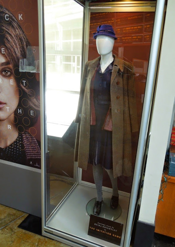 Keira Knightley Imitation Game WWII costume