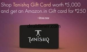 Tanishq Voucher worth Rs. 5000