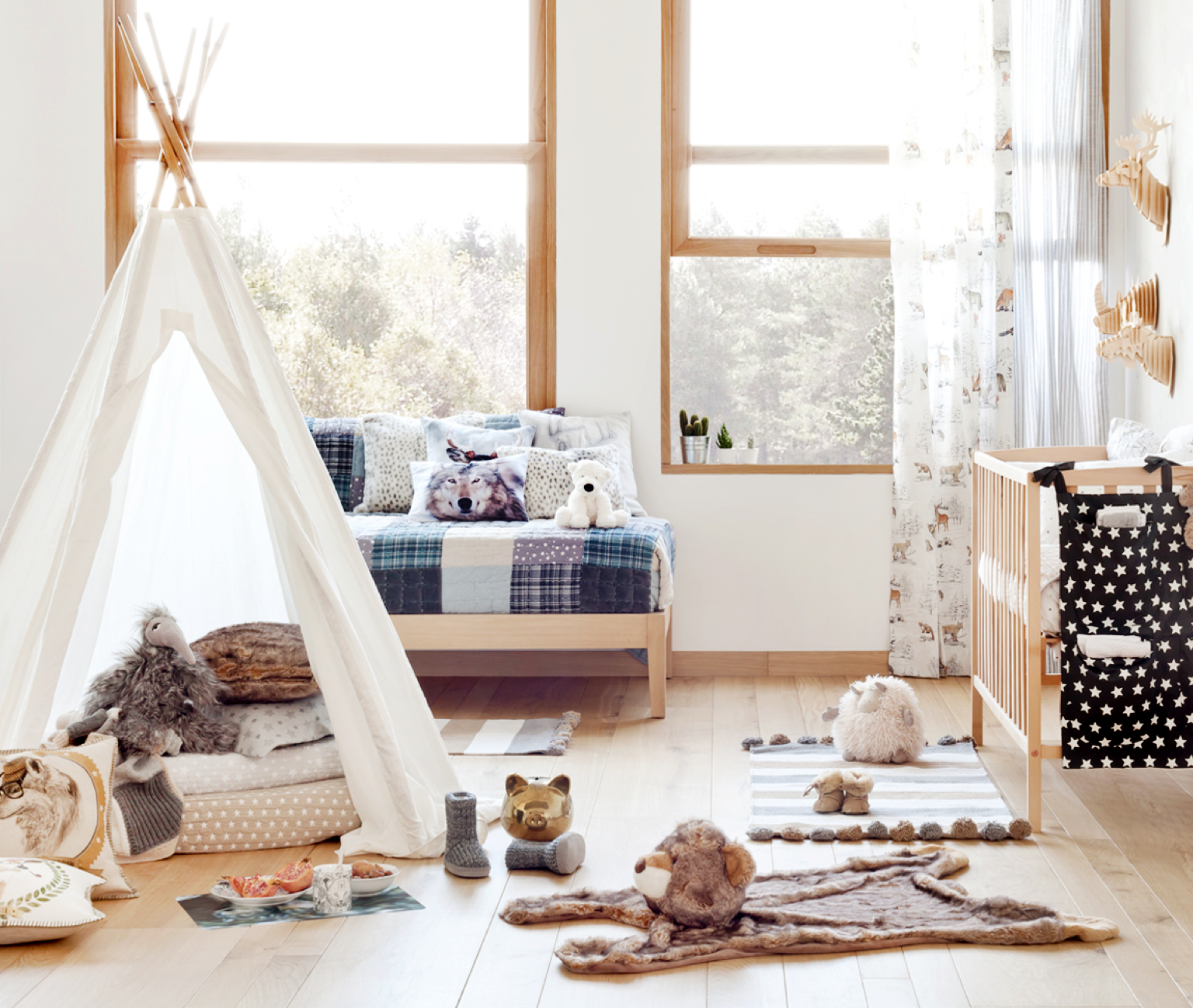 Awe Inspiring Chicdeco Blog Bring It Home Cabin Inspired Kids Room Download Free Architecture Designs Rallybritishbridgeorg