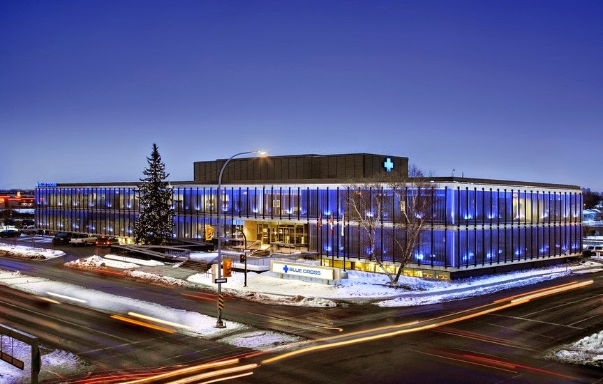 2008 Annual Preservation Award recipient The Manitoba Blue Cross Building at 599 Empress