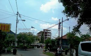 Pembangunan Hotel Grand Prima Kota Cirebon 7 lantai