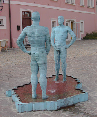 Funny Statue Shower