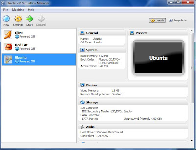 virtual machine linux