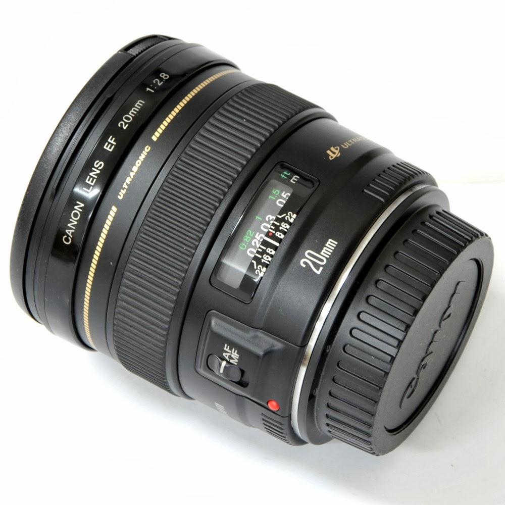 Lensa Canon EF 20mm f/2.8 USM harga spesifikasi