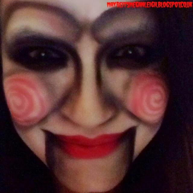 Halloween Makeup - Jigsaw From Saw - Maybe Its Megan Leigh