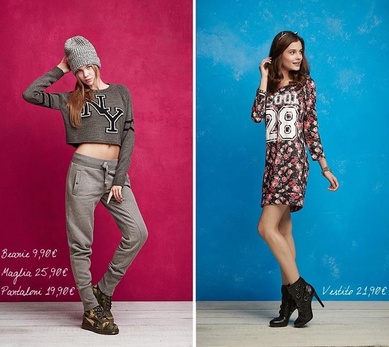 Tezenis Autunno Inverno 2015, prezzi nuova collezione, outfit outunnali, abbigliamento low-cost, vestirsi casual