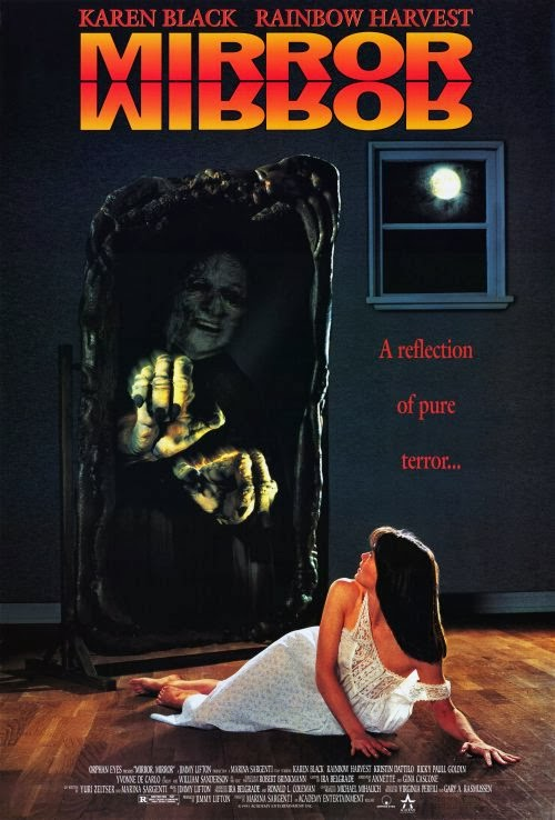 Horror 101 with dr ac mirror mirror 1990 movie review for Mirror horror movie