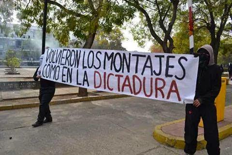 ¡¡¡ VOLVIERON LOS MONTAJES COMO EN DICTADURA!!!!