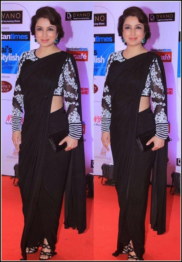 Tisca chopra at Mumbai's Most Stylish 2015