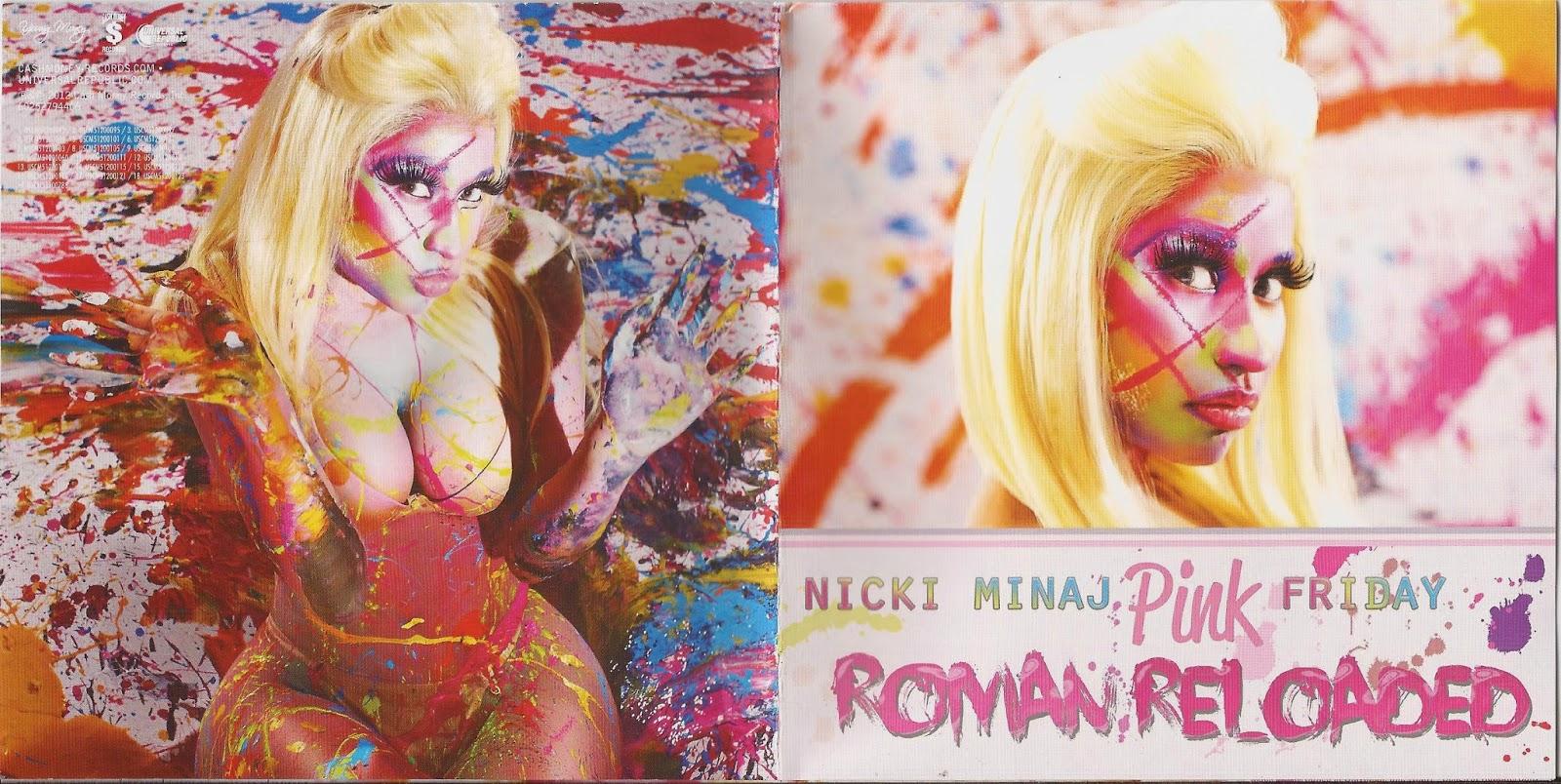 encartes pop encarte nicki minaj pink friday roman