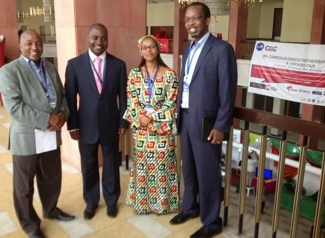 on the sidelines of the 9th COMESA Business Partnerships Forum, DRC CONGO 20th-23rd 2014