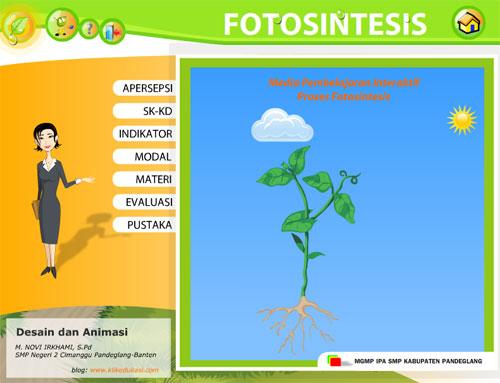 Blog Pendidikan Media Pembelajaran Fotosintesis
