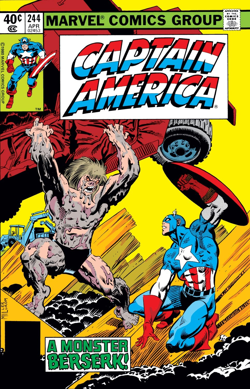 Captain America (1968) Issue #244 #159 - English 1